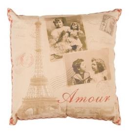 """Kussen /  """"Amour"""" INCL VULLING"""