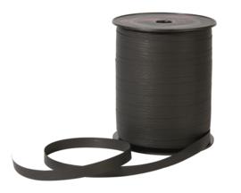 Krullint zwart | papier lint | 7mm | 5m