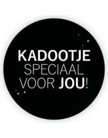 Sticker sluitzegel XL Kadootje speciaal voor jou | 65mm | 5stk