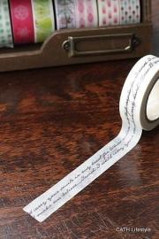 Masking tape  / handschrift
