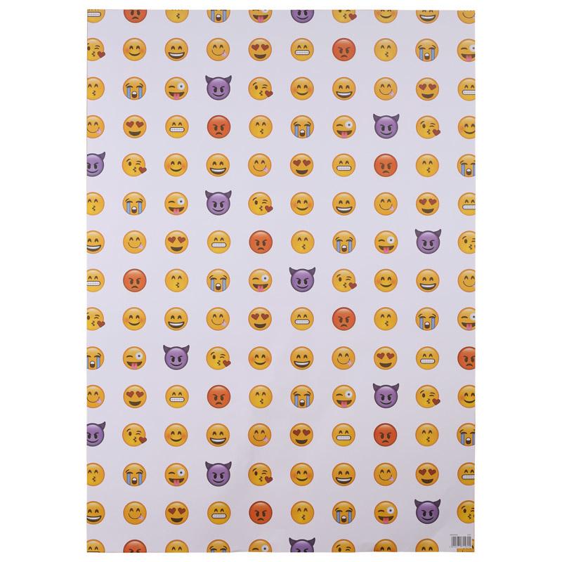 Kadopapier / emoji - smiley