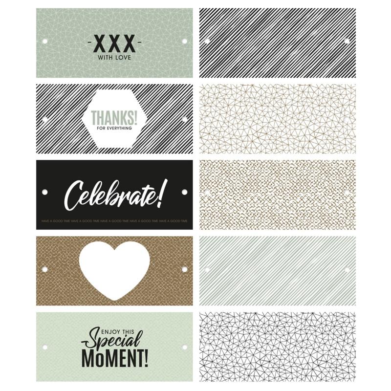 Labels combi mix special moments   5 stk
