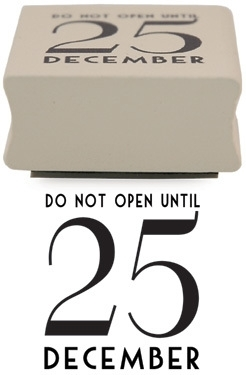 "Stempel / 'do not open until..."" / EI 3778"