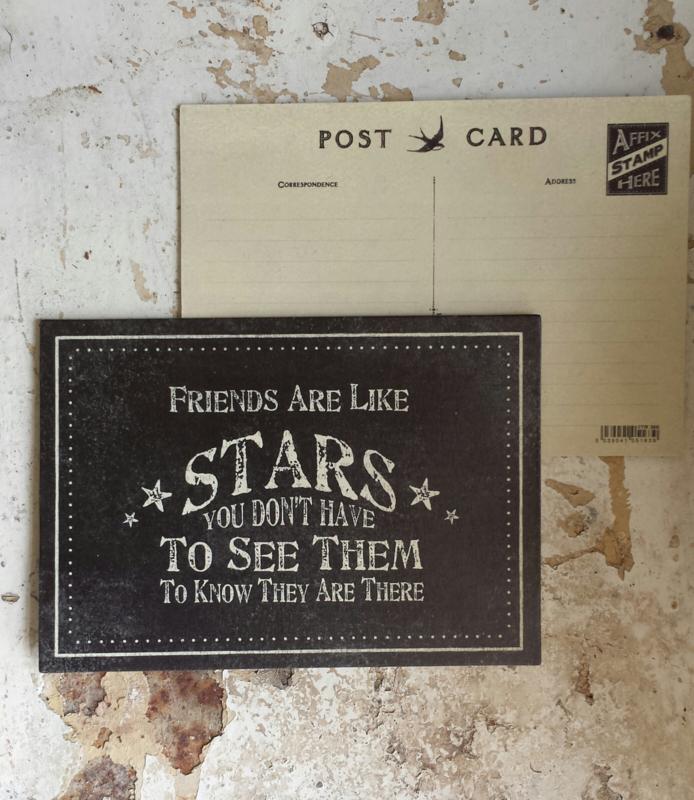 Ansichtkaart / postcard / Friends are like... / EI 1921