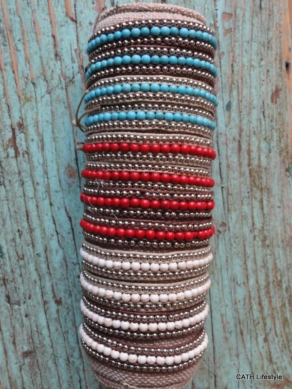 Armband |  Ibiza look kralen