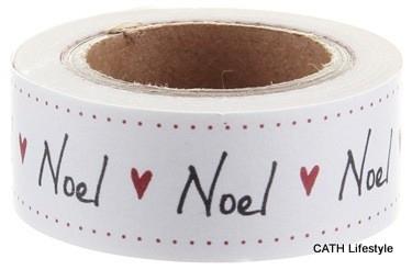 EI 4732 Masking tape geschreven tekst Noel
