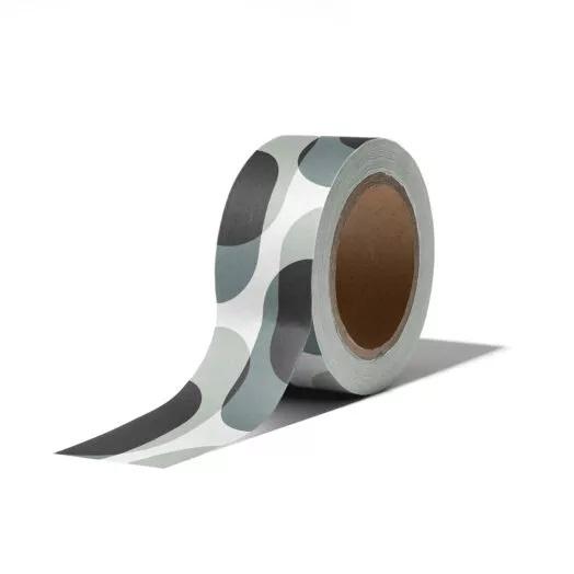 Washi tape  - retro shapes cool | 10m