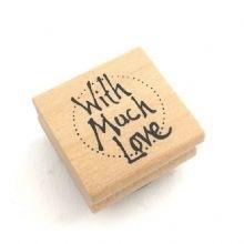 """Stempel / """"With much love"""" / EI 3654"""