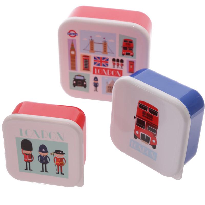 Lunchboxen set - I love Londen