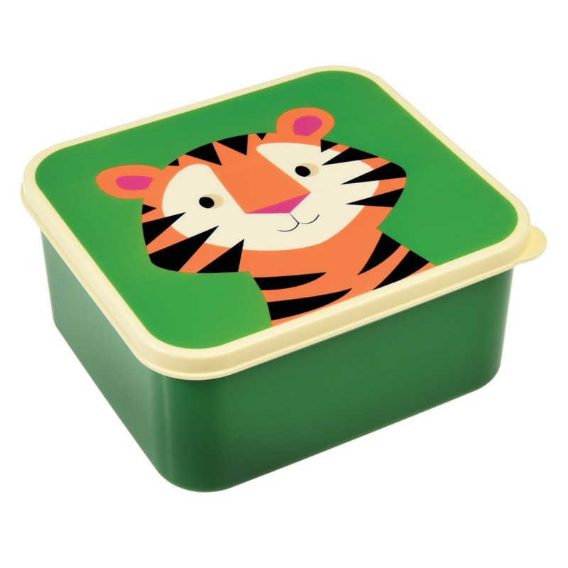 Lunchtrommel - broodtrommel / tijger