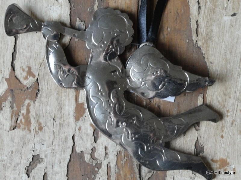 Engel zilver hanger