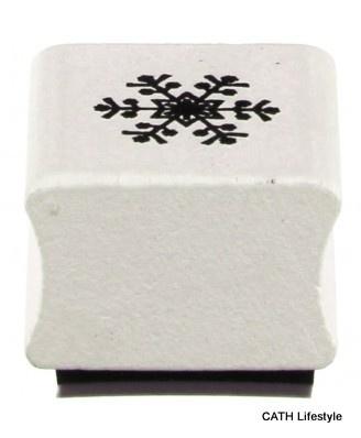 Stempel  / sneeuwvlok / snowflake stamp / EI 3766