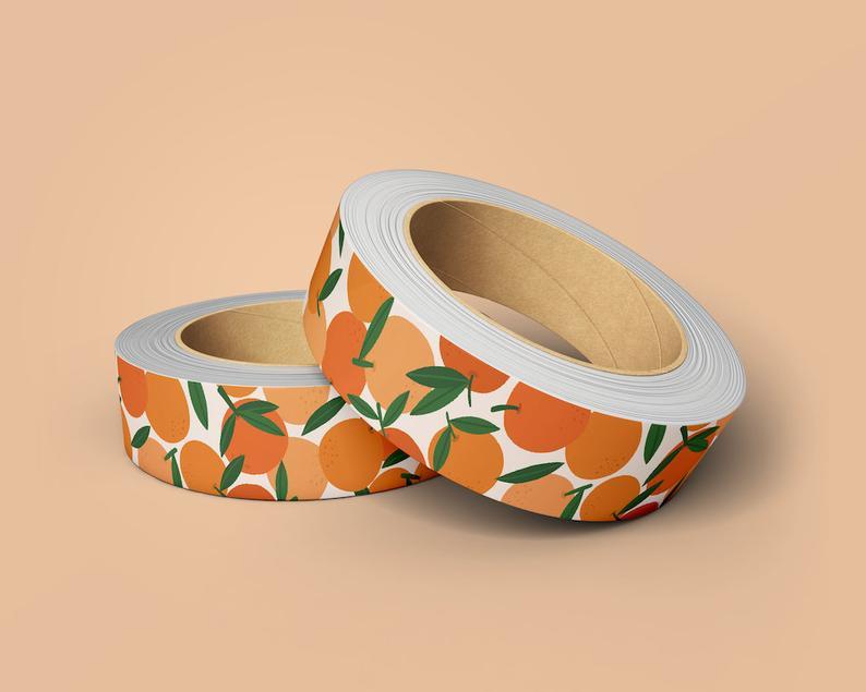 Washi tape sinaasappels