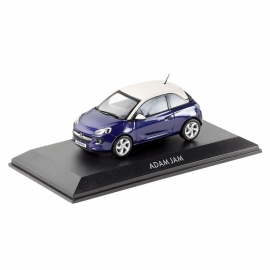 Miniatuur Opel Adam Jam Pump Up The Blue