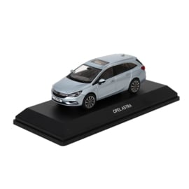 Miniatuur Opel Astra-K Sports Tourer Diamant Blau