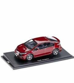 Miniatuur Opel Ampera Cardinal Red