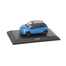 Miniatuur Opel Adam Arden Blue met Onyx Black dak