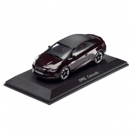 Miniatuur Opel Cascada Dark Mahagony