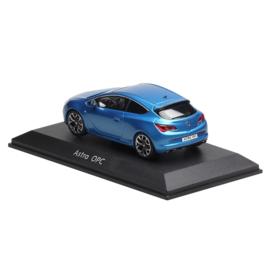 Miniatuur Opel Astra OPC 3-Deurs GTC Flash Blue