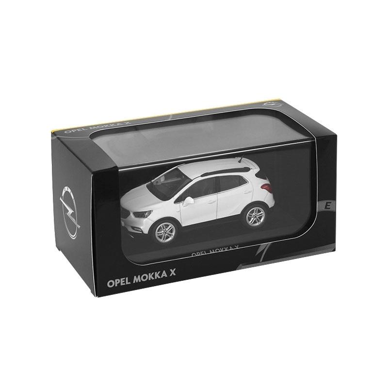 Miniatuur Opel Mokka X (2016) Abalone White