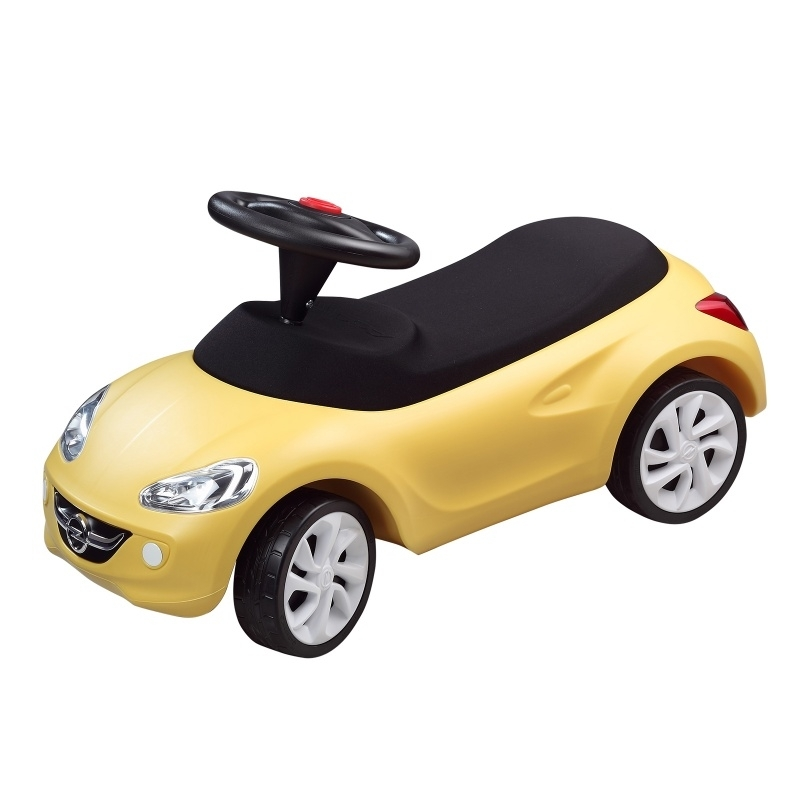 Loopauto Little Adam (Geel)