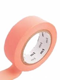 MT Maskingtape salmon pink - masking tape zalmroze