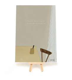 *NIEUW* Poster A5 Every day life - Ted & Tone