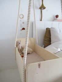 *NIEUW* Mobiel houten kralen - roestbruin desert days