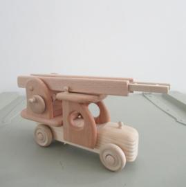 *NIEUW* Houten brandweerauto