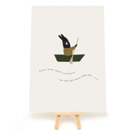 *NIEUW* Poster A5 Rivers know - Ted & Tone