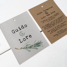 Trouwlabel Guido & Lore