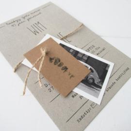 Jubileumkaart Wim & Trudy