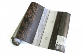 Behang Sloophout Zwart-Wit