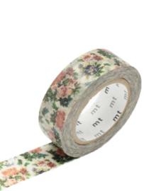 *NIEUW* MT masking tape flower botanical art - vintage bloemen