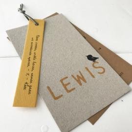 Geboortelabel Lewis