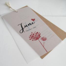 Geboortelabel June