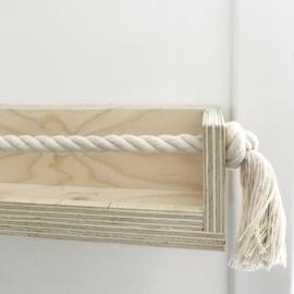 Wandplank underlayment  met touw