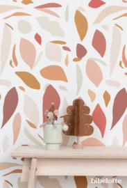 Behang Fruitig roze