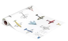 *NIEUW* Behang vliegtuigjes