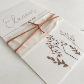 Geboortekaart Elanoor