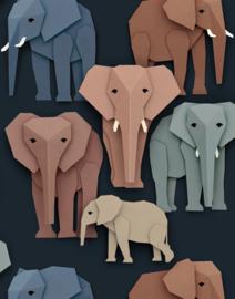 *NIEUW* Behang olifanten