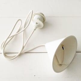 Gebreide hanglamp grijs 15,5 cm