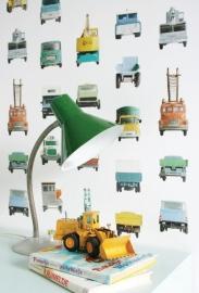 Behang werkauto's