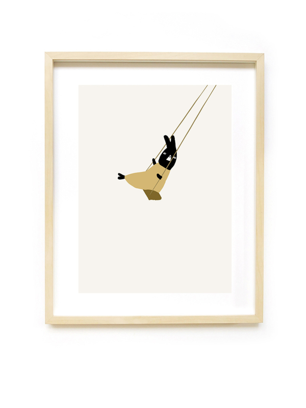 *NIEUW* Poster Swing  A3 - Ted & Tone