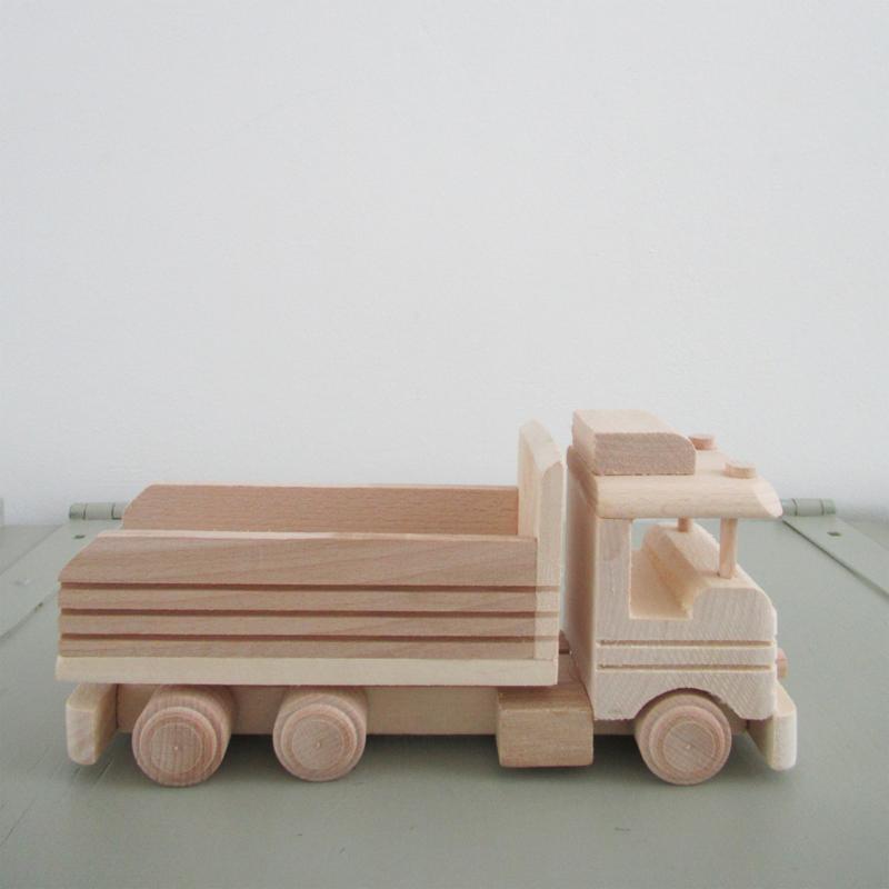*NIEUW* Houten vrachtwagen