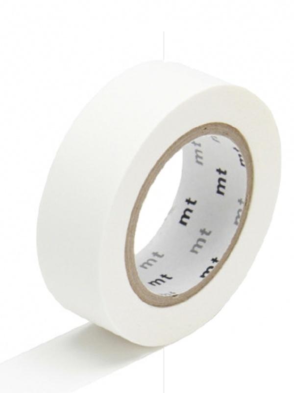 MT Maskingtape matte white - masking tape mat wit