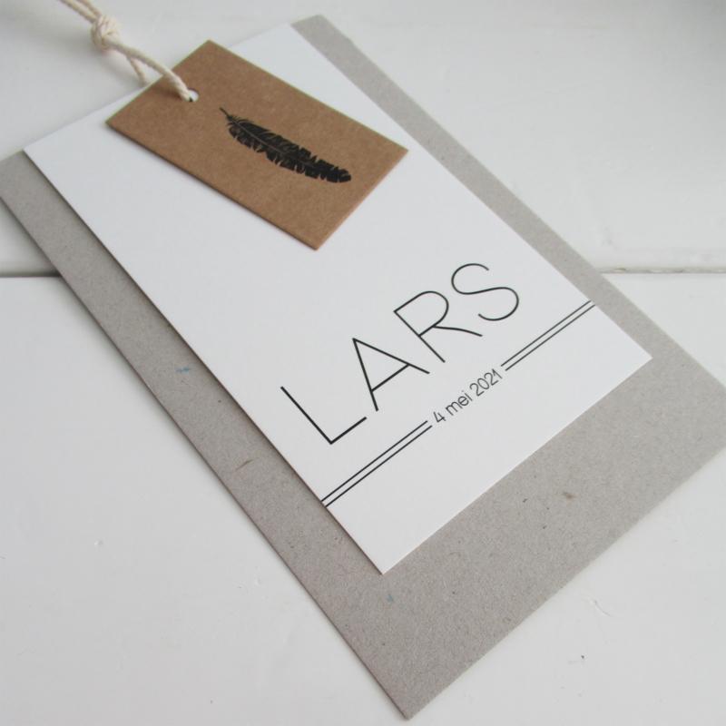 Geboortelabel Lars