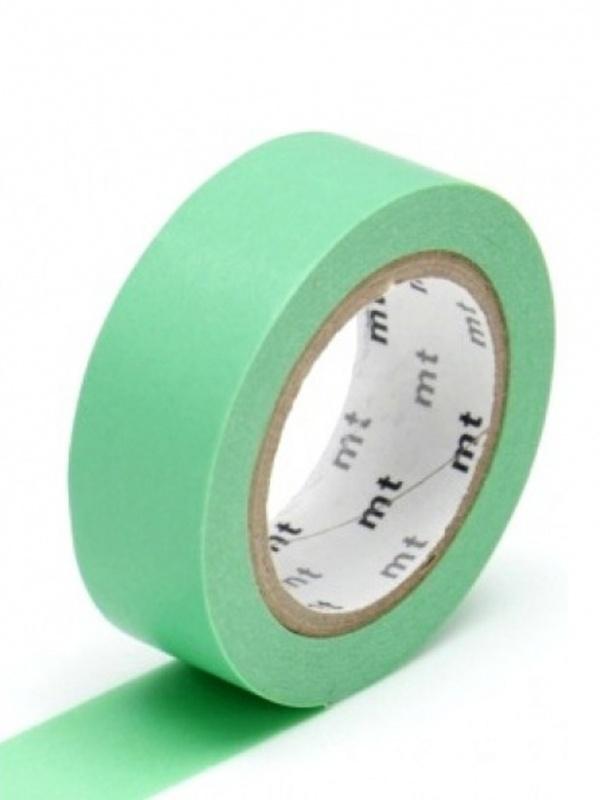 MT Maskingtape wakamidori - masking tape zeegroen