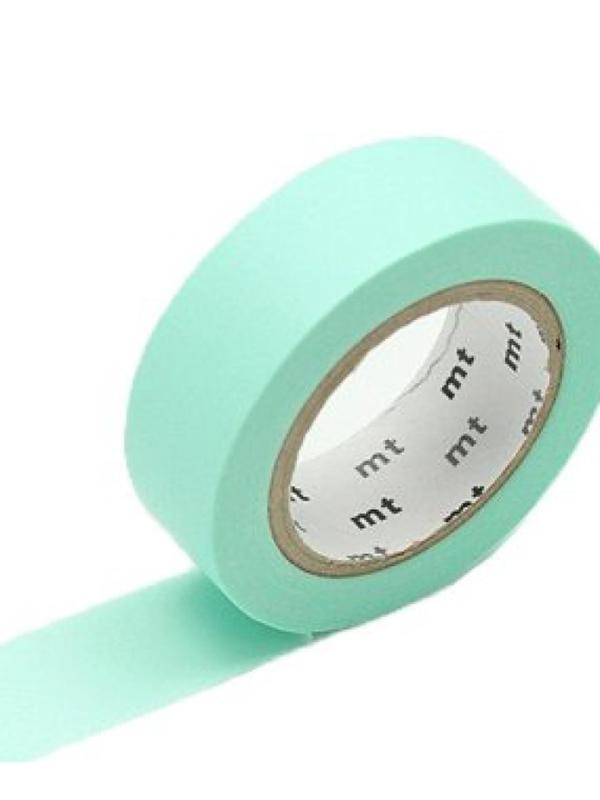 MT Maskingtape pastel emerald - maskingtape pastel groen/mint