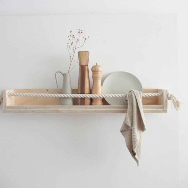 Wandplank underlayment-touw